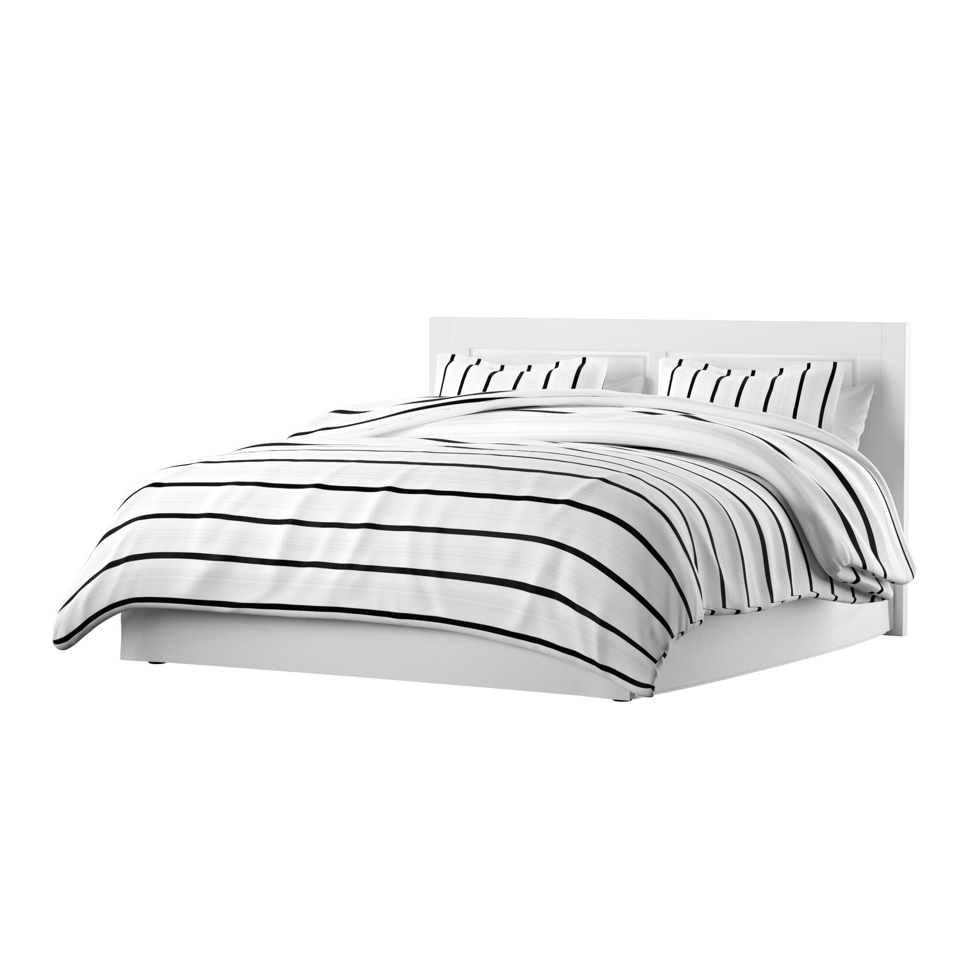 Bedding Collections Home Isleep Reversible Duvet Cover Bedding Set Black White Single Double Full Bed