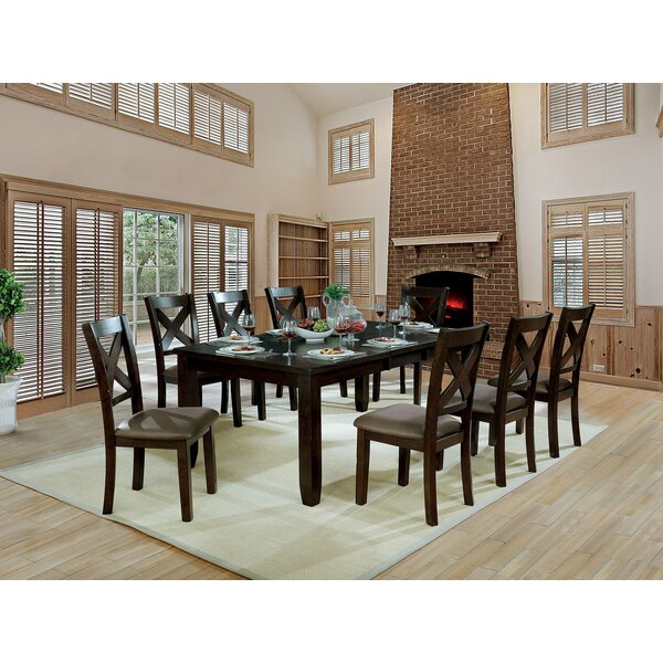 Wegman 9 Piece Extendable Dining Set by Red Barrel Studio