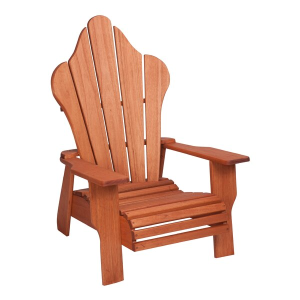Red Grandis Solid Wood Adirondack Chair by Hinkle Chair Company