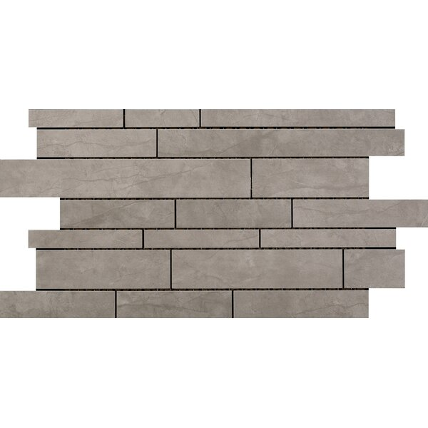 Citadel Random Sized Porcelain Mosaic Tile in Gray by Emser Tile