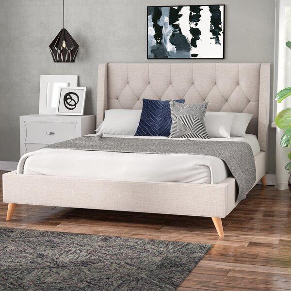 Wiltshire Upholstered Platform Bed by Ebern Designs