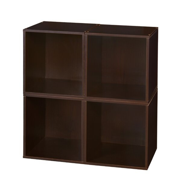 Castillo Cube Unit Bookcase (Set of 4) by Rebrilliant
