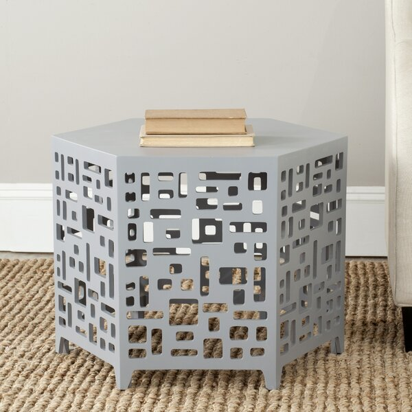 Schuler End Table by Ivy Bronx