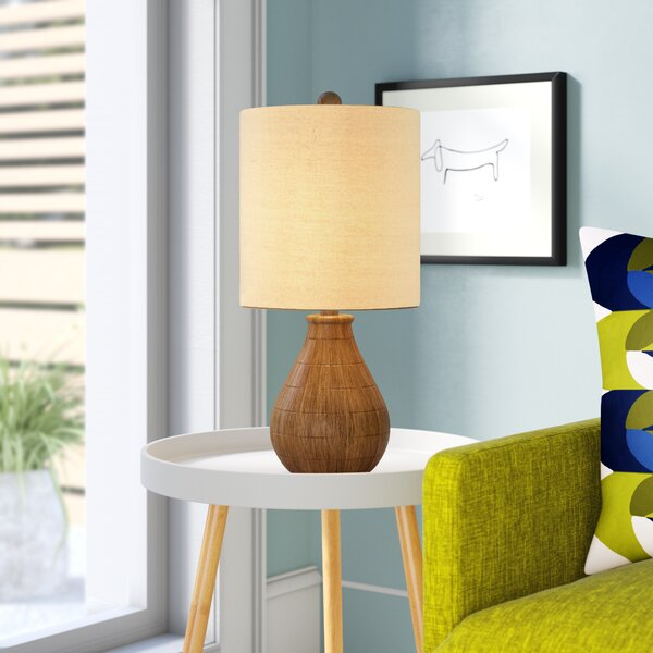 Villegas Rustic 21.5 Table Lamp by George Oliver