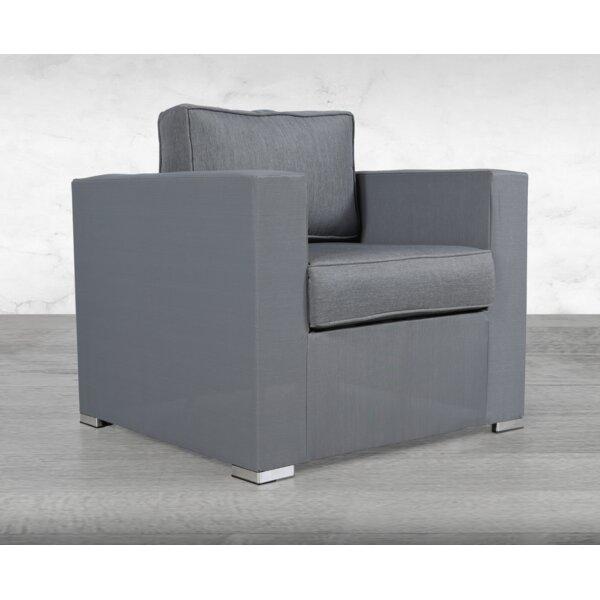 Frisbee Patio Chair with Cushions by Orren Ellis Orren Ellis