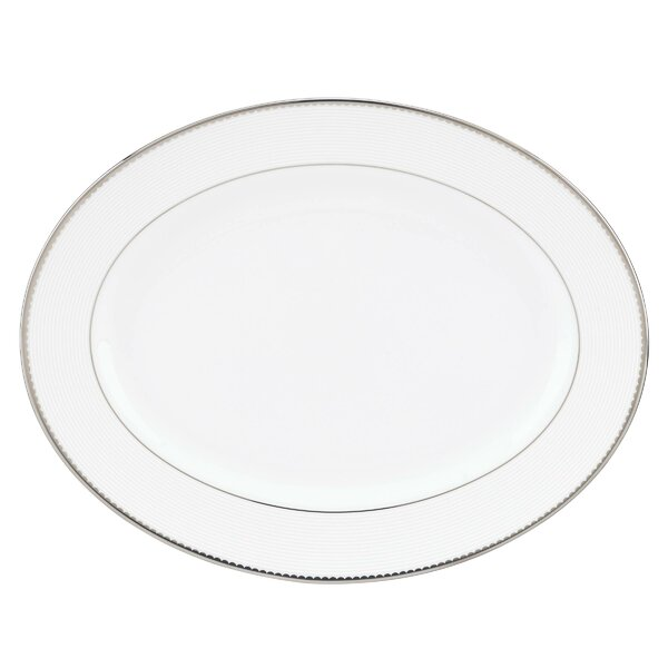 Sugar Pointe Oval Platter by kate spade new york