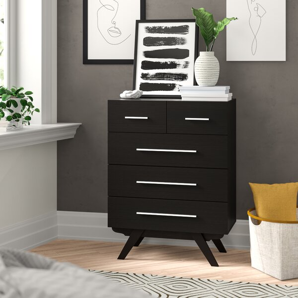 Oleanna 5 Drawer Chest by Zipcode Design