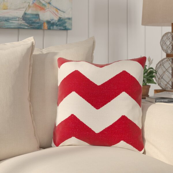Vaughan Cotton Throw Pillow by Longshore Tides