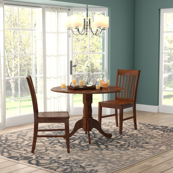 Spruill 3 Piece Drop Leaf Dining Set by August Grove August Grove