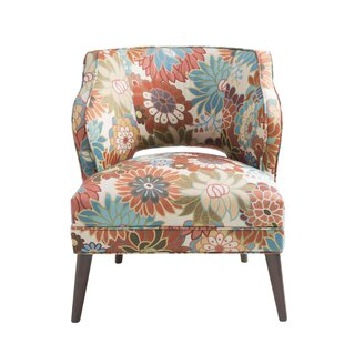 Nolan Floral Mod Side Chair by Latitude Run