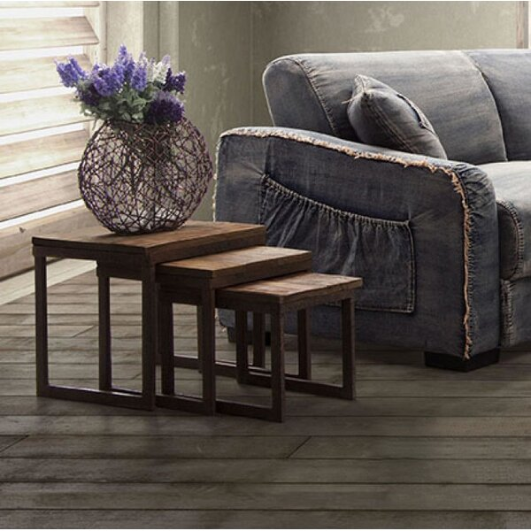 Woodlake 3 Piece Nesting Tables by Trent Austin Design