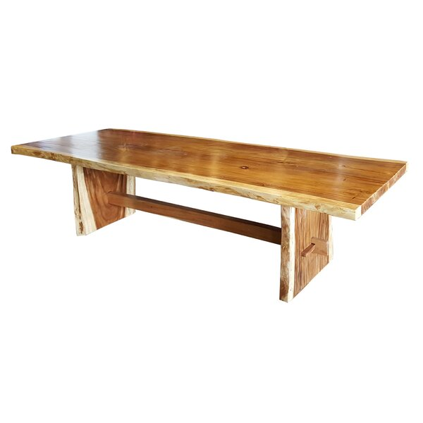 Bragg Suar Solid Wood Dining Table by Foundry Select Foundry Select