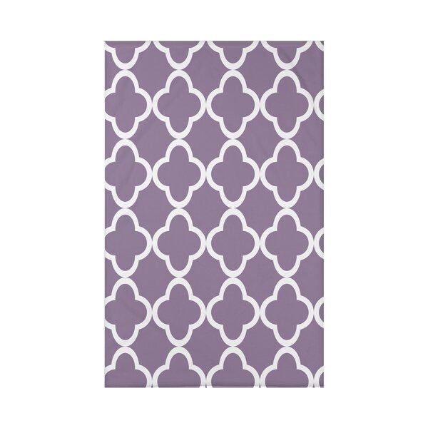 Marrakech Express Geometric Print Polyester Fleece Throw Blanket by e by design