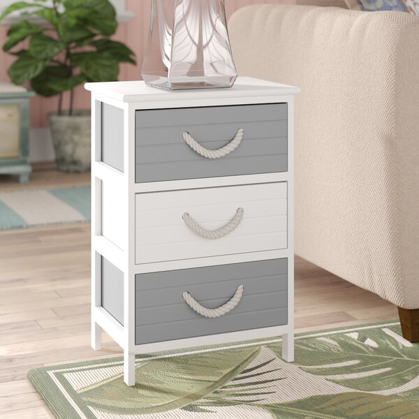 Coutu 3 Drawer Accent Chest By Highland Dunes