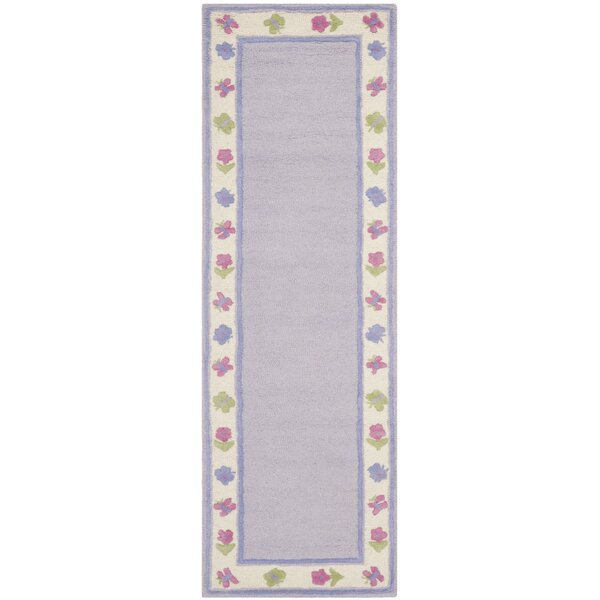 Claro Lavender Kids Rug by Harriet Bee