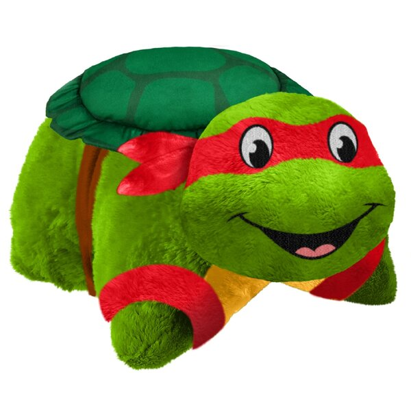 TMNT Raphael Plush Chenille Throw Pillow by Pillow Pets