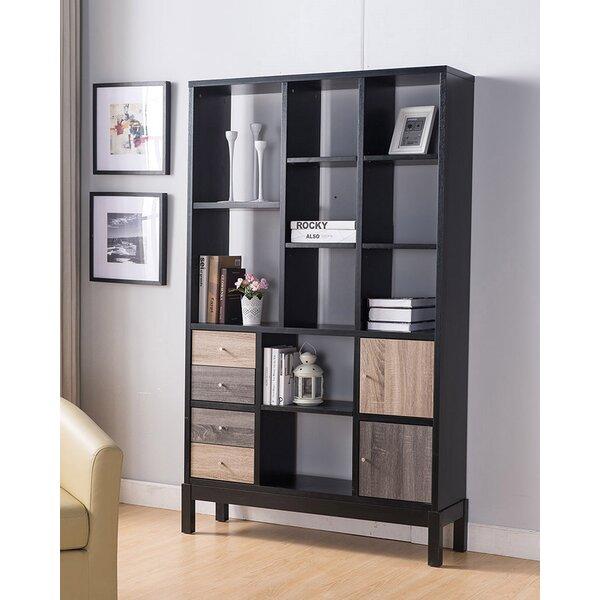 Adonna Laminate Wood Standard Bookcase By Latitude Run