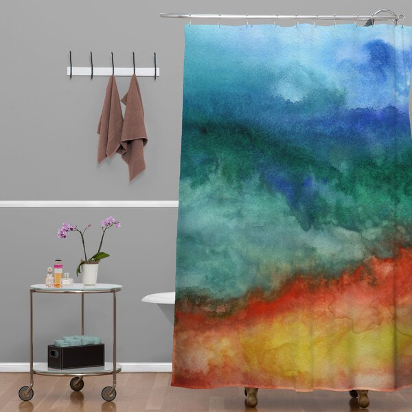 Jacqueline Maldonado Leaving California Shower Curtain by Deny Designs