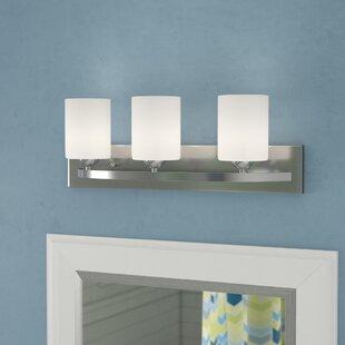Read Reviews Cusack Modern 3-Light Vanity Light ByEbern Designs