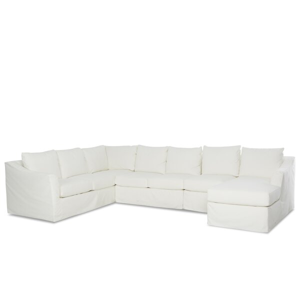 Free Shipping Minna Left Hand Facing U-Shaped Sectional With No Pillows