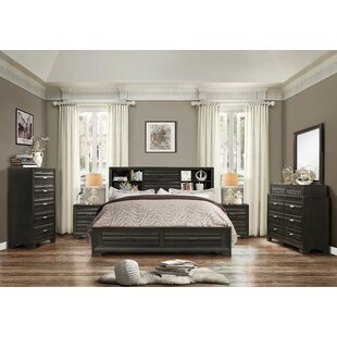 Loiret Wood 6 Piece Bedroom Set