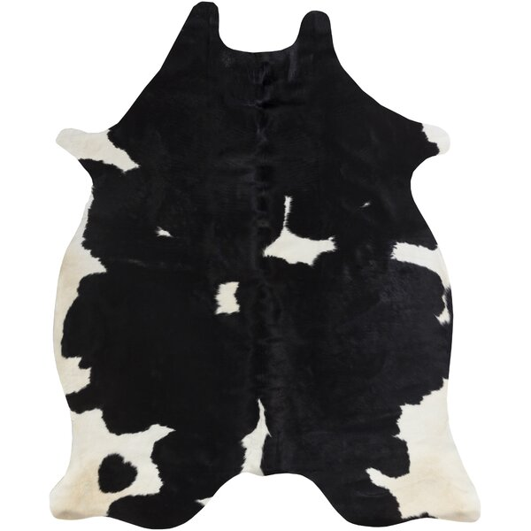 Pires Hand-Tufted Black/White Area Rug by Loon Peak