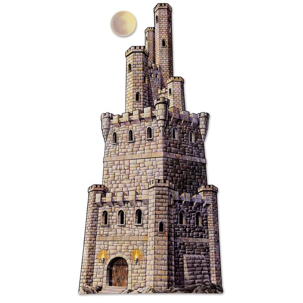 Jointed Castle Tower Standup by The Beistle Company