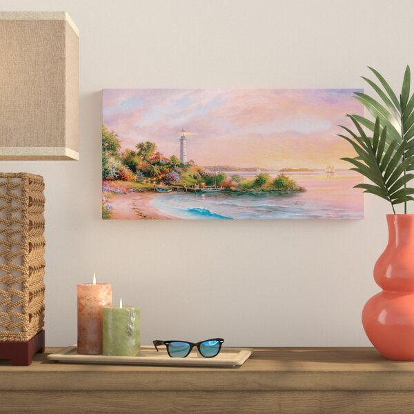 Cape Paradise Painting Print on Wrapped Canvas by Bay Isle Home