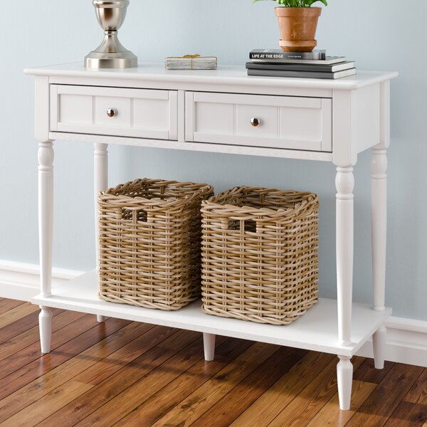 Best Pittard 35.75 Console Table by Alcott Hill