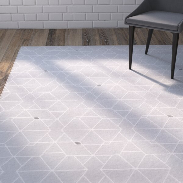 Mcdowell Gray/Neutral Area Rug by Wrought Studio