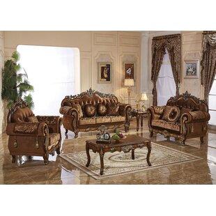 Hosmer Nationwide 3 Piece Standard Living Room Set by Astoria Grand