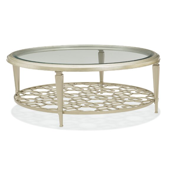 Coffee Table With Storage By Caracole Classic