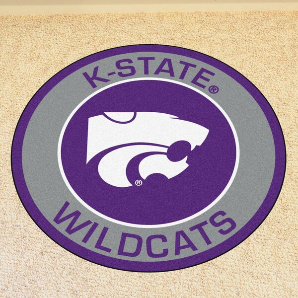 NCAA Kansas State University Roundel Mat by FANMATS