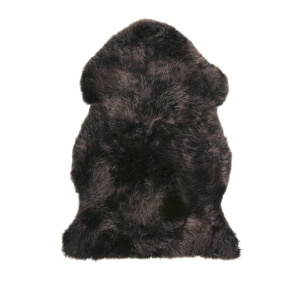 Sheepskin Walnut Area Rug by DwellStudio