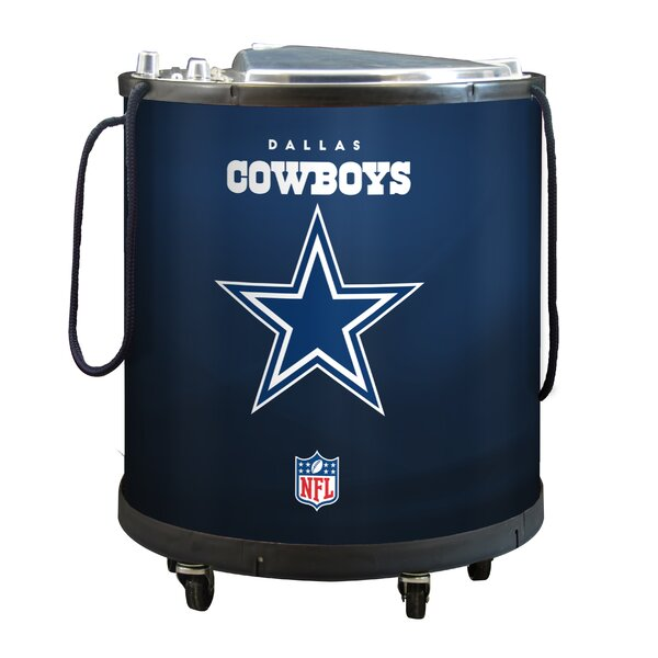 NFL Mini Ice Barrel Cooler by Glaros