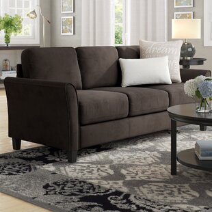 Celestia Curved Arm Sofa Andover Mills