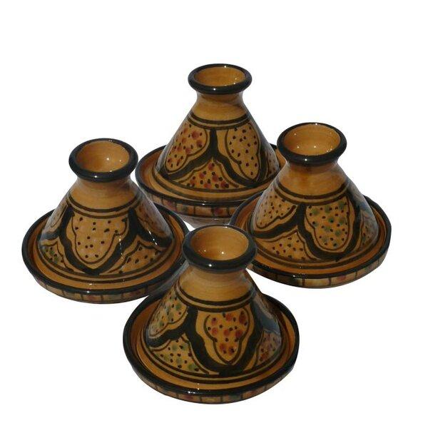 Honey Design Mini Tagines (Set of 4) by Le Souk Ceramique
