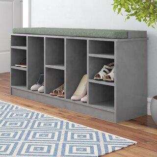 10 Pair Shoe Storage Bench by Red Barrel Studio SKU:BA255436 Order