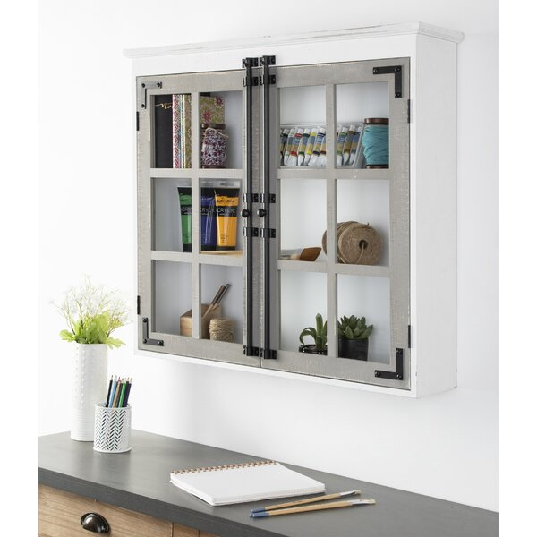 Muth 30 W x 27.5 H x 6.5 D Wall Mounted Bathroom Cabinet