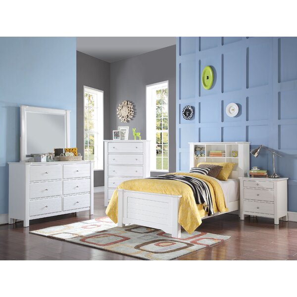 Saylor Bookcase Platform Configurable Bedroom Set by Harriet Bee