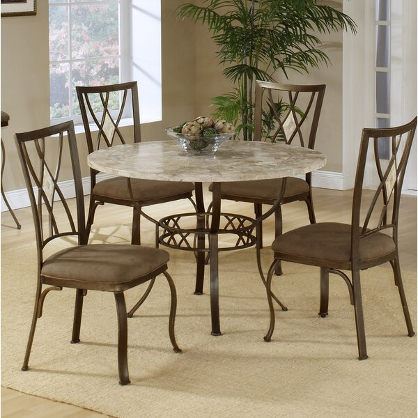 Brookside Stone Top Round Dining Table by Hillsdale Furniture