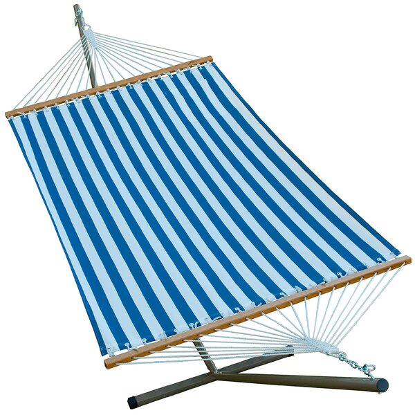 Polyester Hammock with Stand by Algoma Net Company
