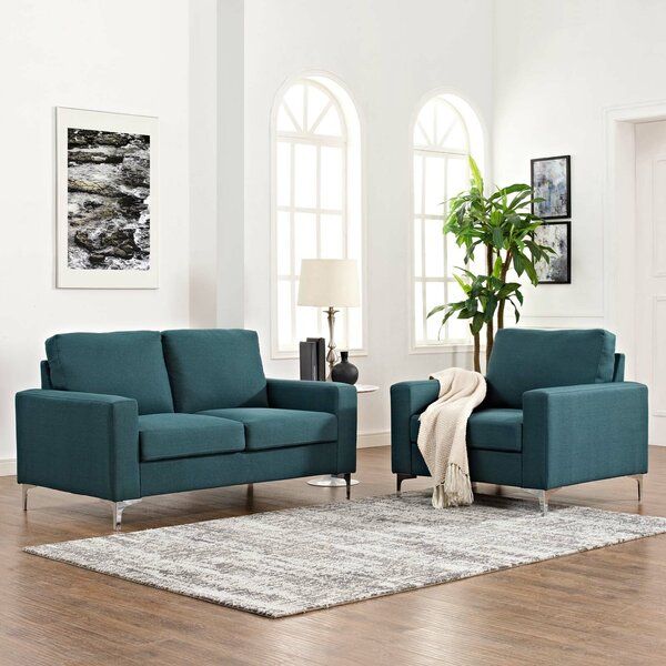 Hollander 2 Piece Living Room Set by Orren Ellis