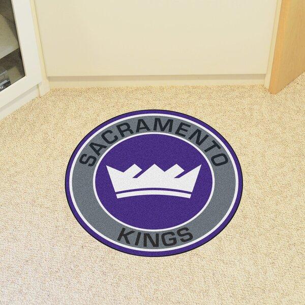 NBA Sacramento Kings Roundel Mat by FANMATS