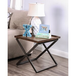 Evansville End Table by Laurel Foundry Modern Farmhouse