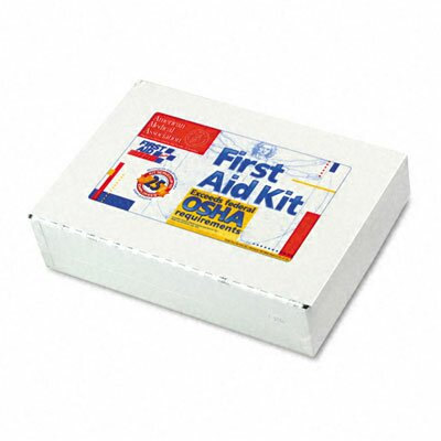 First Aid Kit for 25 People, 106 Pieces, Osha Compliant, Metal Case by First Aid Only™