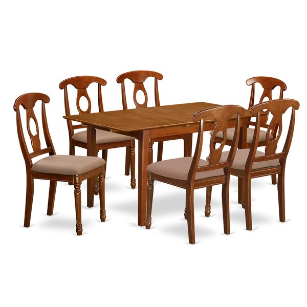 Katie 7 Piece Dinning Set by Alcott Hill