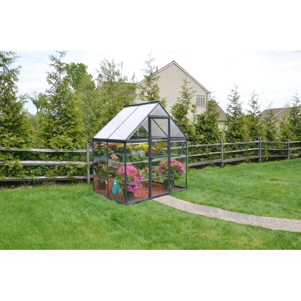 Hybrid™ 6 Ft. W x 4 Ft. D Greenhouse by Palram