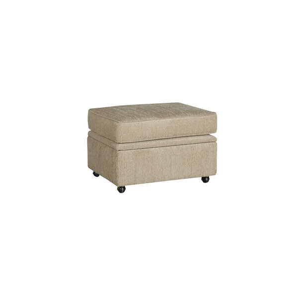 Glastonbury Rafferty Storage Ottoman by Red Barrel Studio