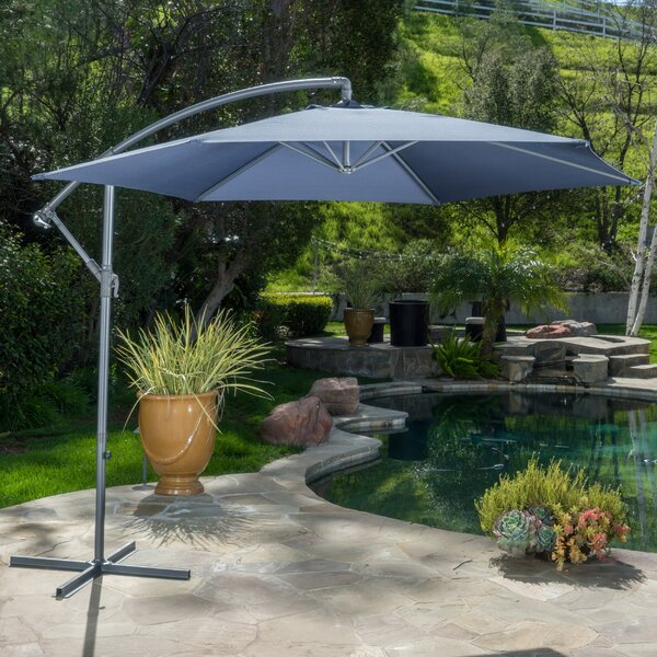 Muhammad Fullerton 10 Cantilever Umbrella By Beachcrest Home.